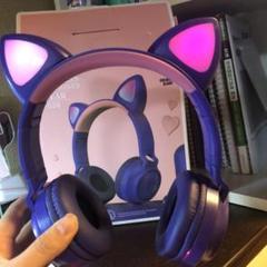 "Thumbnail of ""Headphones cat ear zw-028"""