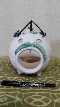 "Thumbnail of ""豚の蚊取り器 陶器製 未使用 レトロ"""