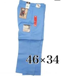 """Thumbnail of """"【希少】Dickies ライトブルー ダブルニー ワークパンツ 46 34"""""""