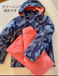 "Thumbnail of ""ROXY ロキシー スノボ スキー 上下 150cm クリーニング済み"""