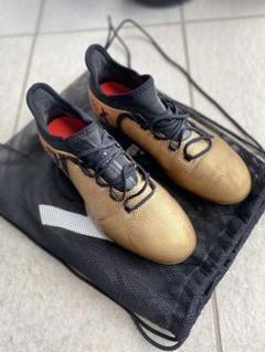 "Thumbnail of ""アディダス adidas X サッカーシューズ ゴールド"""