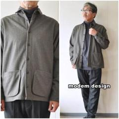 """Thumbnail of """"modemdesign モデムデザイン ウールシャツジャケット2006757 L"""""""