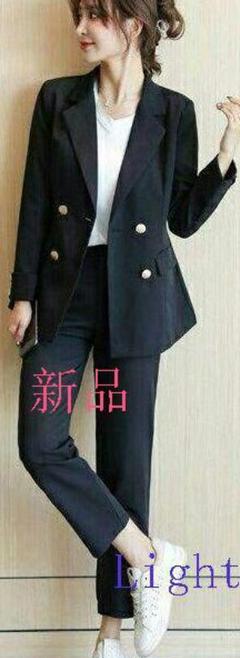 """Thumbnail of """"新作【S】レディース パンツスーツ ツーピースq21"""""""