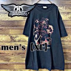 "Thumbnail of ""175【AEROSMITH】エアロスミス バンドTシャツ【メンズXL】ブラック"""