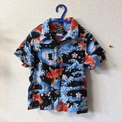 "Thumbnail of ""Oniwa soto/110〜120 金魚 和柄 アロハシャツ"""
