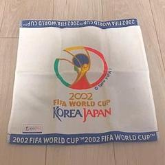 "Thumbnail of ""2002年 日韓 FIFA W杯 ウォッシュタオル 白"""