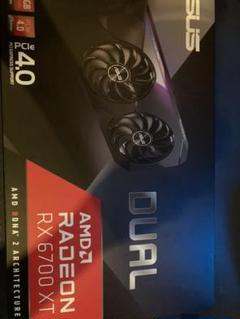 """Thumbnail of """"ASUS Radeon DUAL-RX6700XT-12G"""""""
