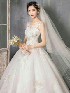 "Thumbnail of ""可愛い ウェディングドレス 二次会ドレス 結婚式 プリンセスラインドレス 姫8"""