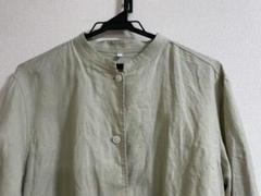 """Thumbnail of """"フレンチリネン洗いざらしシャツジャケット 婦人M~L・ペールグリーン"""""""