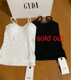 "Thumbnail of ""【新品】GYDA バインダーキャミ ホワイト"""