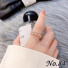 "Thumbnail of ""◆新品◆結晶デザインリング 指輪 ローズゴールド レディース ボックスセット"""