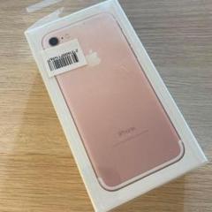 "Thumbnail of ""iPhone7 32GB 未使用 ローズゴールド"""