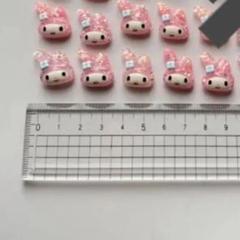 """Thumbnail of """"マイメロディ パーツ ネイルパーツ まとめ売り 9個"""""""