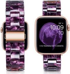 """Thumbnail of """"Apple watch 42mm/44mm バンド ベルト パープルローズ"""""""