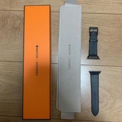 "Thumbnail of ""Apple Watch6 44mm エルメス 黒レザーバンド"""