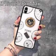 "Thumbnail of ""iPhone12ProMax ケース リング付き 韓国 キラキラ ホワイト"""