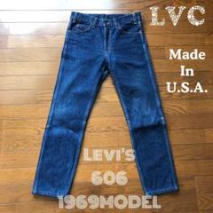 """Thumbnail of """"LEVI'S 606 LVC 1969MODEL W30 アメリカ製 ビッグE"""""""