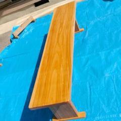 """Thumbnail of """"大工さんが作りました欅ダイニングテーブル、カウンターテーブルになります"""""""