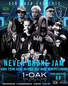 "Thumbnail of ""前売り完売 never broke jam kohh yerr keiju"""