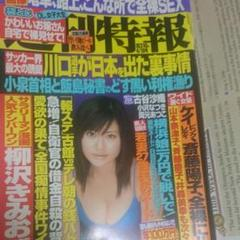 "Thumbnail of ""週刊特報2004年4月19日、5月3日  2冊 柳沢きみお薔薇奇行子"""