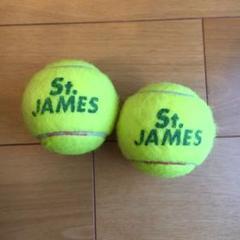 "Thumbnail of ""テニスボール 中古 2個 ダイエット マッサージ 送料無料 St.JAMES"""