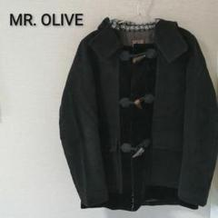 "Thumbnail of ""MR.OLIVE ダッフルコート フード 日本製 黒"""