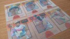 "Thumbnail of ""プロ野球 ダイヤモンドヒーローズ1996 インサートカード 清原新庄6枚セット"""