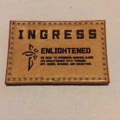 """Thumbnail of """"Ingress ENLIGHTENEDパッチ 75mm×50mm"""""""