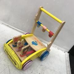 """Thumbnail of """"手押し車 カタカタ 知育玩具 おもちゃ 歩行練習 歩行器 歩け歩け 木製 ウッド"""""""