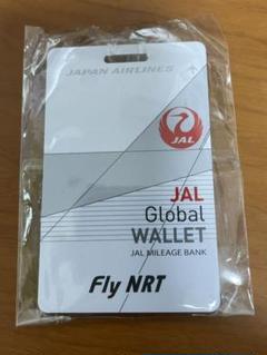 "Thumbnail of ""未使用品 成田空港限定 JAL グローバルメンバー用 ネームタグ"""