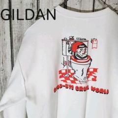 "Thumbnail of ""GILDAN GOODプリント スウェット バックプリント有り Lサイズゆるだぼ"""