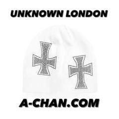 "Thumbnail of ""UNKNOWN LONDON white cross rhinestone"""
