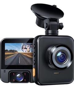 "Thumbnail of ""ドライブレコーダー 前後カメラ 車内+車外カメラ搭載 4赤外線暗視ライト"""