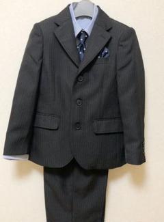 "Thumbnail of ""男の子 フォーマルスーツ 120 【5点セット】"""