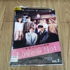 "Thumbnail of ""ま11 Love or Not レンタル落ち DVD 全3巻セット"""