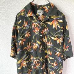 "Thumbnail of ""古着 総柄 開襟 オープンカラー アロハ デザインシャツ メンズ 半袖"""