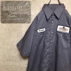 "Thumbnail of ""レッドキャップ 超ビッグサイズ 企業ロゴ ワークシャツ メキシコ製 一点物 古着"""