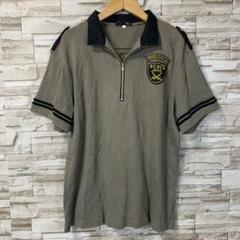 """Thumbnail of """"メンズ ポロシャツ ワンポイントロゴ ゴルフ L 半袖 胸ロゴ"""""""