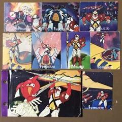 "Thumbnail of ""昭和ミニカード 宇宙の戦士 テッカマン 8枚 & カードアルバム"""