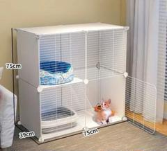 "Thumbnail of ""新作猫カゴ家庭用の小型室内猫小屋は、超自由空間子猫ちゃん"""