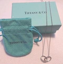 """Thumbnail of """"Tiffany&Co. インターロッキング ダブル リンク ネックレス"""""""