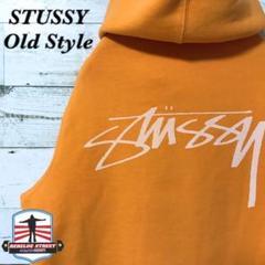 """Thumbnail of """"《希少カラー》STUSSY ステューシー☆パーカー M ビッグロゴ オレンジ"""""""