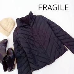 """Thumbnail of """"FRAGILE フラジール ダウンジャケット 三陽商会 ブラック サイズM"""""""