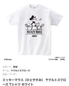 """Thumbnail of """"ヤクルトスワローズ ミッキーマウス コラボTシャツ M ユニフォーム"""""""
