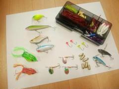 お買い得☺バス釣りルアーセット ワーム ハードルアー