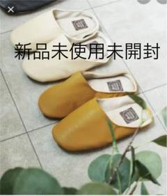 """Thumbnail of """"レザー風 ルームシューズ バブーシュ"""""""