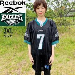 "Thumbnail of ""【NFL】Reebok イーグルス 2XLサイズ ゲームシャツ チームロゴ"""