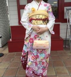 "Thumbnail of ""京都着物友禅 成人式&卒業式 振り袖フルセット 値下げ有り"""