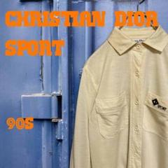 "Thumbnail of ""90s Christian Dior SPORT イエローシャツ 刺繍ロゴ 古着"""