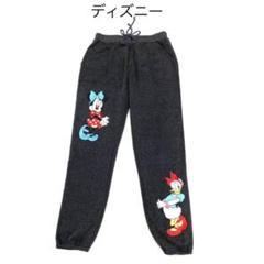 """Thumbnail of """"新品 ディズニー かわいいイラスト スウェットパンツ L Disney パジャマ"""""""